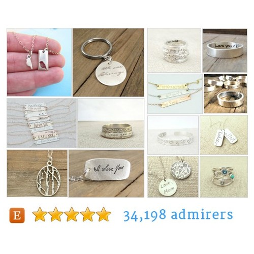Eco-Conscious Recycled Silver Jewelry by emilyjdesign Etsy shop  #etsy #PromoteEtsy #PictureVideo @SharePicVideo