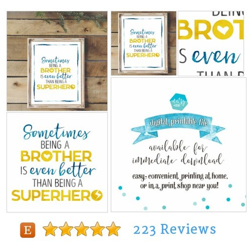 Quote Prints - Brotherly Love #etsy @nutsyandme  #etsy #PromoteEtsy #PictureVideo @SharePicVideo