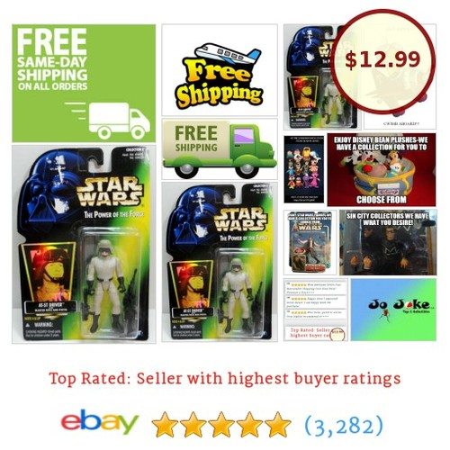 CLOSEOUT SPECIAL-STAR WARS-POTF-AT-ST DRIVER-#KENNER 1996-SUPERB-RARE-NEW | eBay  #etsy #PromoteEbay #PictureVideo @SharePicVideo
