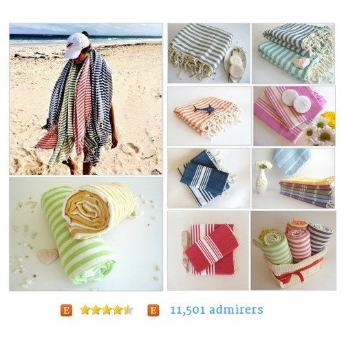 Organic, eco-friendly Turkish towels (Peshtemals) by TheAnatolian Etsy shop  #etsy #PromoteEtsy #PictureVideo @SharePicVideo