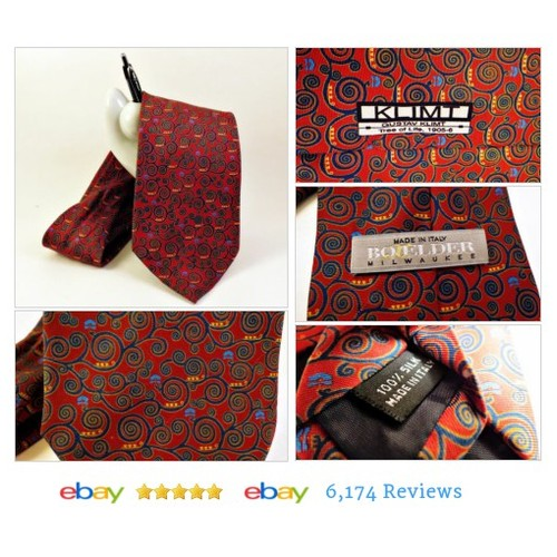 "BOXELDER Mens Tree of Life NECKTIE Made - Italy Gustav Klimt 1905 61""  #Tie #MensAccessory #etsy #PromoteEbay #PictureVideo @SharePicVideo"