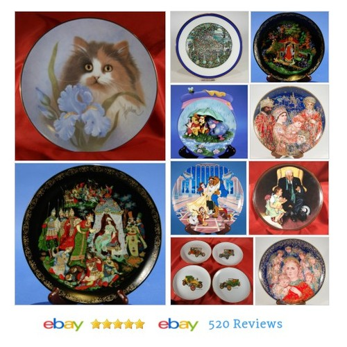 Collectible Plates in J&J's Clothing Gifts & Collectibles store on eBay! #Plate #Collectible #ebay #PromoteEbay #PictureVideo @SharePicVideo