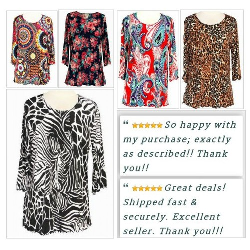 Women's Ruffled Tunics just in at Shar's Boutique! #Tunic #WomensClothing #ebay #PromoteEbay #PictureVideo @SharePicVideo