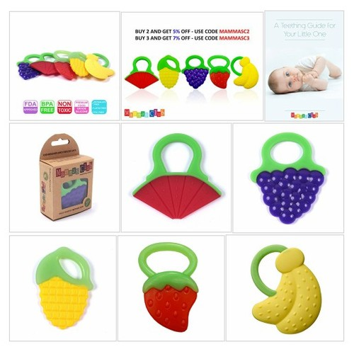Teether Toys for Teething Relief Soft & Durable - Every Thing Baby #socialselling #PromoteStore #PictureVideo @SharePicVideo