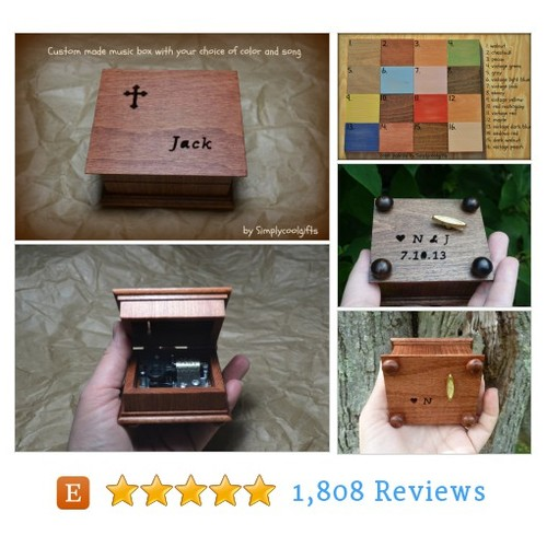 music box, musical box, music boxes, wood #etsy @simplycoolgifts  #etsy #PromoteEtsy #PictureVideo @SharePicVideo
