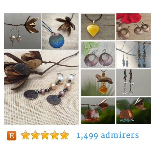 Copper earrings & more #etsyjewelry #bestofetsy #etsyspecialt @EtsyLoveChild @EarthRT @HyperRTs @EtsyRT @NightRTs #etsy #PromoteEtsy #PictureVideo @SharePicVideo