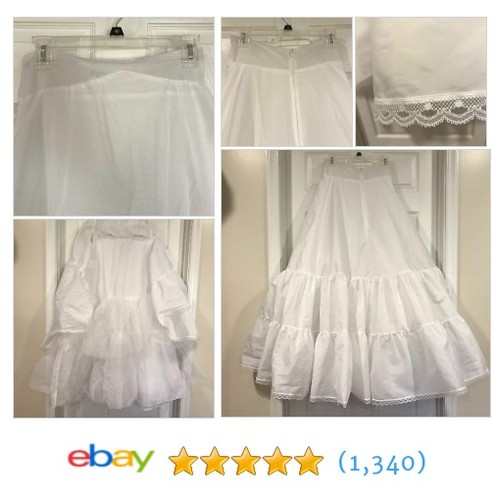 DAVID'S BRIDAL Crinoline A-line Petticoat Slip 2 Tier Wedding Ball Gown Size 12  | eBay #etsy #PromoteEbay #PictureVideo @SharePicVideo