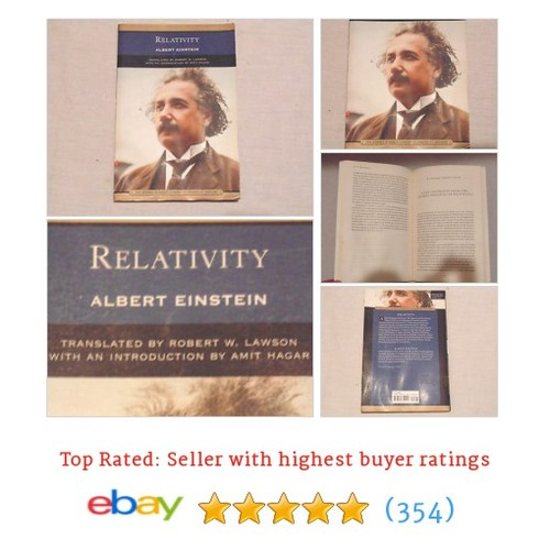 Relativity: The Special and the General Theory - Paperback 760759219 #ebay @the_rusty_nail1  #etsy #PromoteEbay #PictureVideo @SharePicVideo