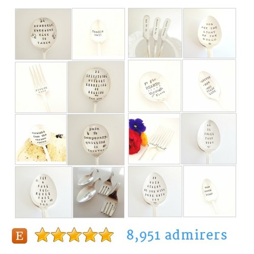 Stamped Silverware #etsy shop #stampedsilverware @spoonerz1  #etsy #PromoteEtsy #PictureVideo @SharePicVideo