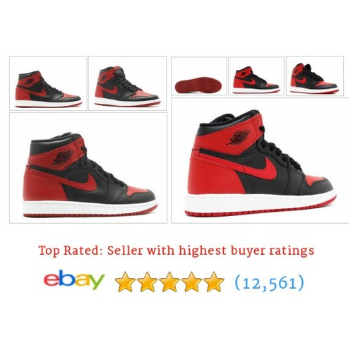 2016 Nike Air Jordan One Banned Retro  #ebay @thesneakpeek #sellonebay  #etsy #PromoteEbay #PictureVideo @SharePicVideo