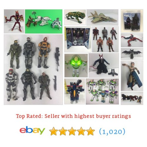 Action Figures Items in Collectors Paradise store #ebay @bobbys_flips121 https://www.SharePicVideo.com/?ref=PostPicVideoToTwitter-bobbys_flips121 #ebay #PromoteEbay #PictureVideo @SharePicVideo