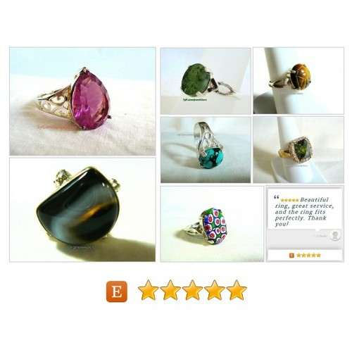 #etsy #Rings #Jewelry #SylCameoJewelsStore #Etsyshop #etsyspecialt #integrityT #socialmedia #gemstones #sterlingsilver @EtsyClub  #etsy #PromoteEtsy #PictureVideo @SharePicVideo