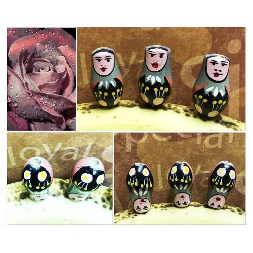 "I call these ""Sister Mary UGH"" 😎 Wooden Doll Beads Hand Painted Large Vintage Eastern European Matryoshka Doll Beads  Vintage Wooden Beads #etsyspecialt #integritytt #SpecialTGIF #Specialtoo  #TMTinsta       @Faeshub  @InfamousRTs s  @zimisss #etsy #PromoteEtsy #PictureVideo @SharePicVideo"