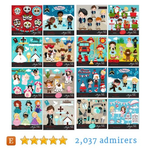 CLIPARTS #etsy shop #clipart @mujka  #etsy #PromoteEtsy #PictureVideo @SharePicVideo
