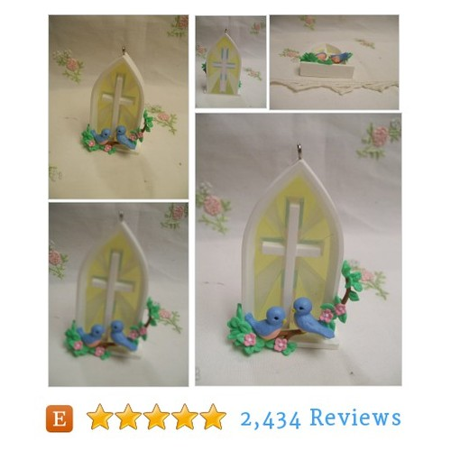 Hallmark Easter Ornament 1992 Bluebirds at #etsy @lynnminter  #etsy #PromoteEtsy #PictureVideo @SharePicVideo