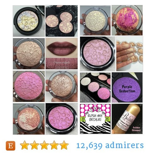 Highlighters/Face Powder #etsy shop #facepowder #highlighter @beautybarbaby  #etsy #PromoteEtsy #PictureVideo @SharePicVideo