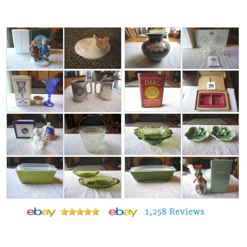 Always Free Shipping At Foster Web Store ! #Vintage #Ceramic #COLLECTIBLES #ebay #PromoteEbay #PictureVideo @SharePicVideo
