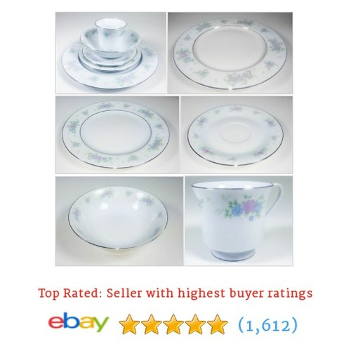 CHINA GARDEN PRESTIGE PATTERN ELEGANT 5PC SERVICE FOR 6 + EXTRAS! |   @moneymaker2828 #ebay  #etsy #PromoteEbay #PictureVideo @SharePicVideo