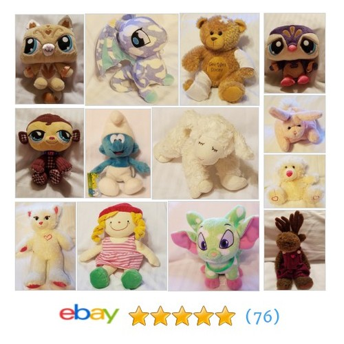 Plush Stuffed Animals Items in simple2faith store #ebay @jswehstaci  #ebay #PromoteEbay #PictureVideo @SharePicVideo