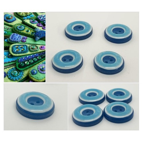 Blue and Turquoise Vintage Layered Buttons  Vintage Costumakers  Laminated Well Buttons Collectible Buttons 2 hole Sewing #etsyspecialt  #SpecialTGIF      @FallingFearsRT  @FindMeAClan #vintagebuttons #bluebuttons #sewingbuttons #estatefinds #etsy #PromoteEtsy #PictureVideo @SharePicVideo