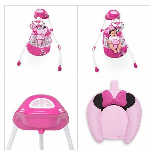Amazon.com : Disney Minnie Mouse Garden Delights Swing : Baby #socialselling #PromoteStore #PictureVideo @SharePicVideo
