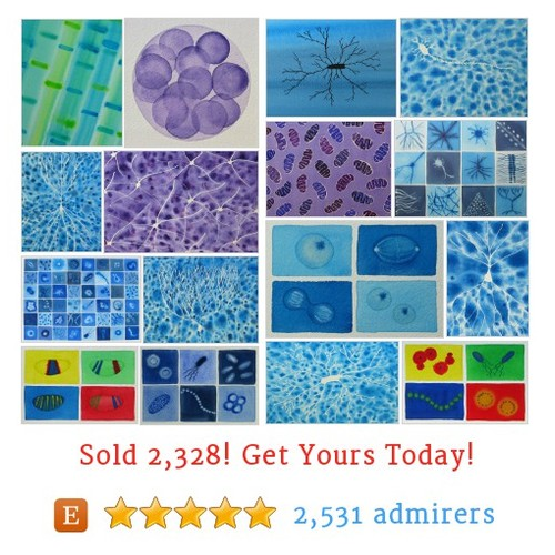 Cells and microbes Etsy shop #etsy @artologica https://www.SharePicVideo.com/?ref=PostPicVideoToTwitter-artologica #etsy #PromoteEtsy #PictureVideo @SharePicVideo