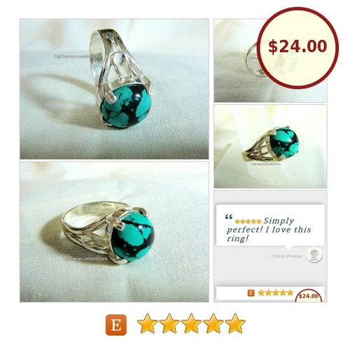 #TurquoiseStone #Ring #MidiRing #SterlingSilver #SylCameoJewelsStore #Jewelry #MidiSilverRing #3friends #etsyspecialt #integritytt #specialtoo #SpecialTGIF @TwitchShare @FameRTz @EtsyClub  #etsy #PromoteEtsy #PictureVideo @SharePicVideo