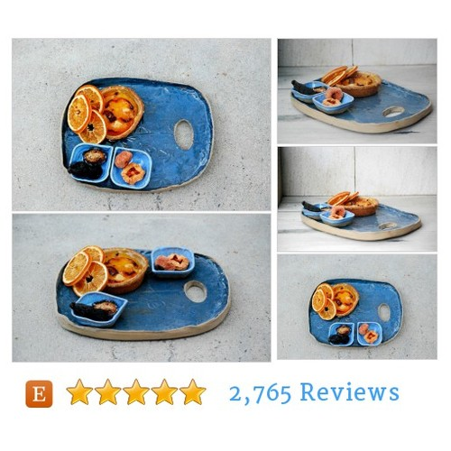 ceramic serving platter, cheese tray, #etsy @kattenconsult  #etsy #PromoteEtsy #PictureVideo @SharePicVideo
