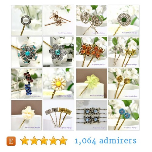 bobby pins #etsy shop #bobbypin @purplemoondsgn  #etsy #PromoteEtsy #PictureVideo @SharePicVideo