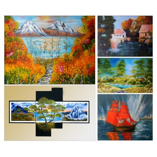 Exclusive original oil Paintings Landscape by Etsy:  #etsy #PromoteEtsy #PictureVideo @SharePicVideo