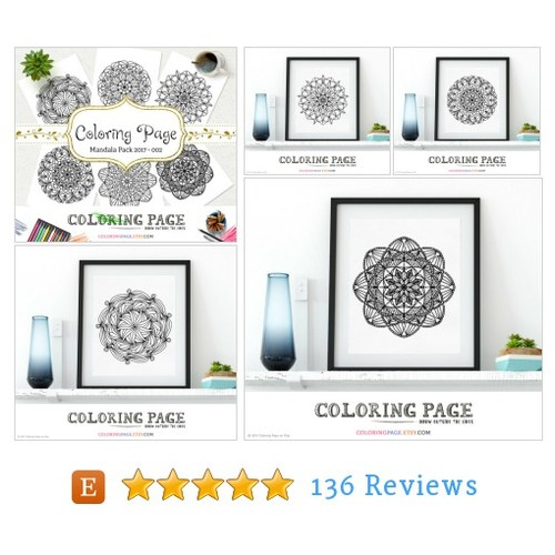 Printable Coloring Page Doodle Mandala Pack #etsy @coloringwallart https://www.SharePicVideo.com/?ref=PostPicVideoToTwitter-coloringwallart #etsy #PromoteEtsy #PictureVideo @SharePicVideo