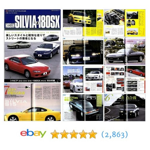 JDM NISSAN SILVIA 180SX Archives BOOK #ebay @samuraitreasure  #etsy #PromoteEbay #PictureVideo @SharePicVideo