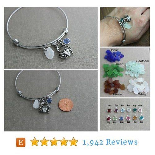 Crab bracelet, stainless steel adjustable #etsy @beachcovejewel  #etsy #PromoteEtsy #PictureVideo @SharePicVideo