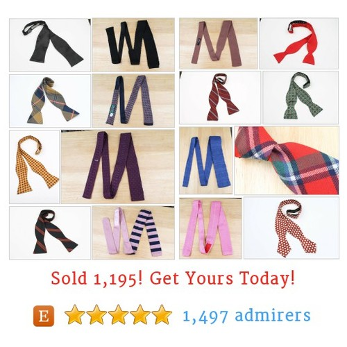Mens NECKTIES & BOW TIES Etsy shop #etsy #PromoteEtsy #PictureVideo @SharePicVideo