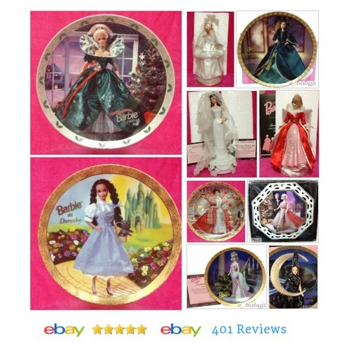 #CollectibleEnescoBarbieJim  #MusicBox #Plate #eBay #StoreName e_babyji SALE ends 6/12/2016 #ebay #PromoteEbay #PictureVideo @SharePicVideo
