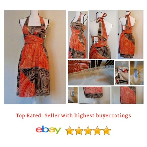 Anthropologie We Love Vera #Dress Women's Size 2 Study of Shapes Halter | eBay #Sundres #WomensClothing #etsy #PromoteEbay #PictureVideo @SharePicVideo