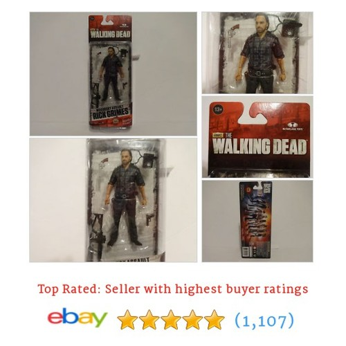 Mcfarlane The Walking Dead Series 7.5 Rick Grimes Woodbury Assualt #ebay @nictomaso  #etsy #PromoteEbay #PictureVideo @SharePicVideo