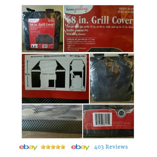 "Home Grilling 68"" #GrillCover Heavy Duty,Full Length WeatherResistant PVC #Eating #Barbecue #etsy #PromoteEbay #PictureVideo @SharePicVideo"
