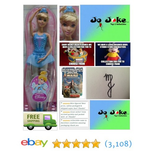 DISNEY PRINCESS CINDERELLA BALLERINA-12 INCH-A RING FOR YOUR PRINCESS, THE TIARA | eBay #disneymattel #etsy #PromoteEbay #PictureVideo @SharePicVideo