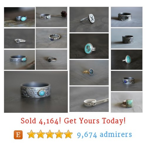 Rings > Ready To Ship Etsy shop #etsy @mcreekstudio  #etsy #PromoteEtsy #PictureVideo @SharePicVideo