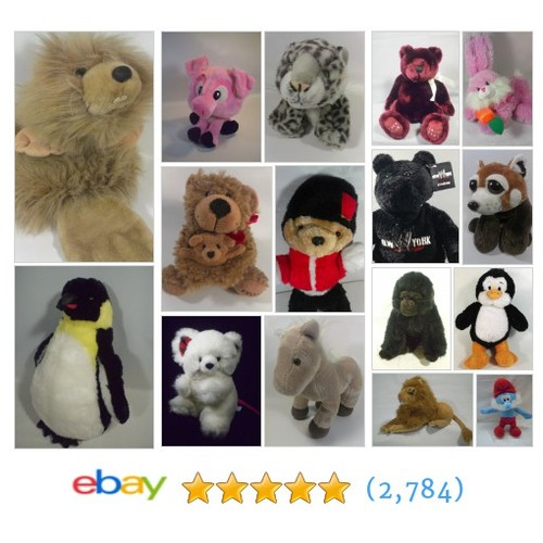 Plush Stuffed Animals Items in Dreamchest2014 store  @steel5757 #ebay  #ebay #PromoteEbay #PictureVideo @SharePicVideo