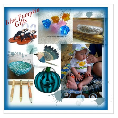 Blue Pumpkin Gifts #fashion #homedecor #etsy #EtsyspecialT #integrityTT #handmadegifts #socialselling #PromoteStore #PictureVideo @SharePicVideo