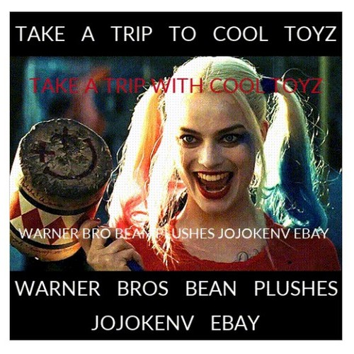 TAKE A TRIP WITH COOL TOYZ WARNER BROS BEAN PLUSHES JOJOKENV EBAY #socialselling #PromoteStore #PictureVideo @SharePicVideo