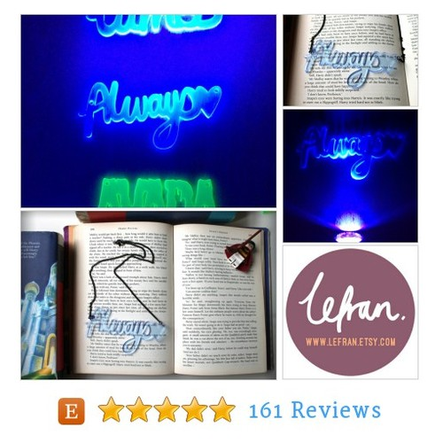 CLEARANCE- UV Always Harry Potter inspired #etsy @owlcavedev  #etsy #PromoteEtsy #PictureVideo @SharePicVideo