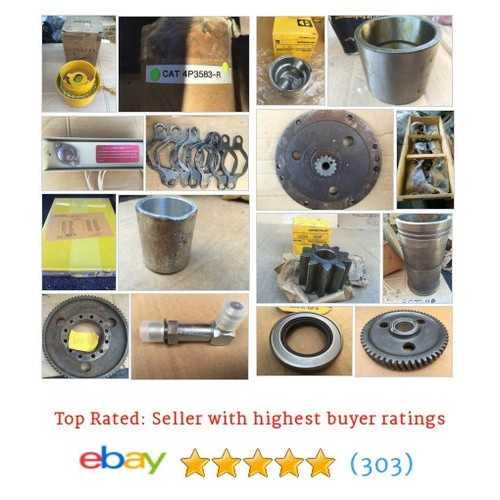 Caterpillar Parts Great deals from caddilaced | eBay Stores #caterpillarpart #ebay @edcsapo  #ebay #PromoteEbay #PictureVideo @SharePicVideo