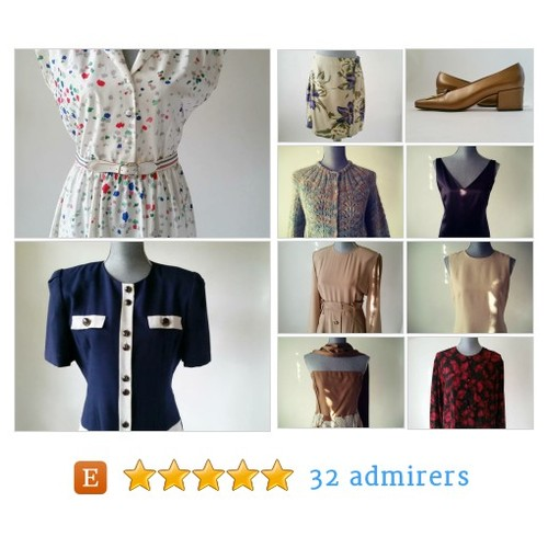 Vintage is Attitude~Mix of Euro Chic & Classic American by LeBlueBlue Etsy shop LeBlueBlue Vintage @LeBlueBlue #etsy #PromoteEtsy #PictureVideo @SharePicVideo