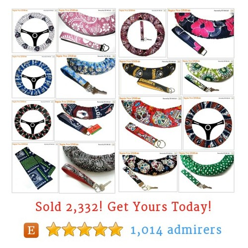 STEERING Wheelcover Sets Etsy shop #etsy @emb_pattyv  #etsy #PromoteEtsy #PictureVideo @SharePicVideo