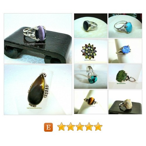 #Sterling #Silver #Rings #Jewelry #Handmade #SocialMedia #etsyspecialt #gemstones @etsyRT @PromotePictures #fashion #trends #etsy #PromoteEtsy #PictureVideo @SharePicVideo