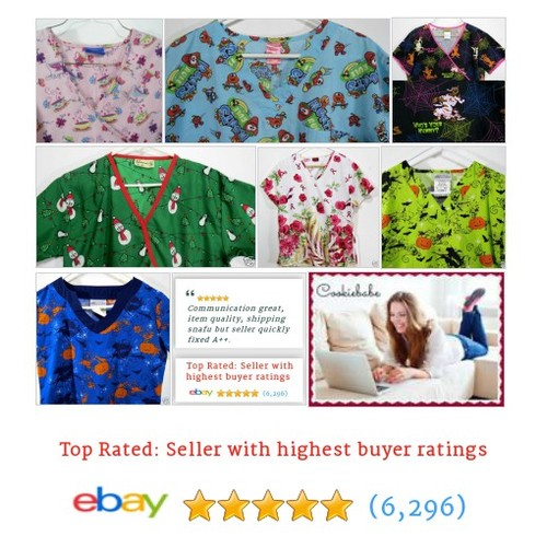 cookiebabe | eBay DEEPLY DISCOUNTED SCRUB TOPS - VARIOUS SIZES #ebay #PromoteEbay #PictureVideo @SharePicVideo