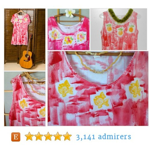 For your Valentine Red Hawaii beach dress #etsyseller #etsymntt #integritytt @MDFDRetweets @Retweet_Lobby @EtsyRT #etsy #PromoteEtsy #PictureVideo @SharePicVideo